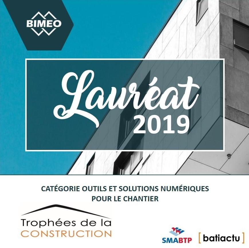 Bimeo lauréat Trophées de la construction numérique 2019, en attendant 2020 ?